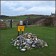 Gigha visitor cairn